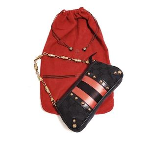 Auth GUCCI X Tom Ford Limited Edition Pouchete Bag